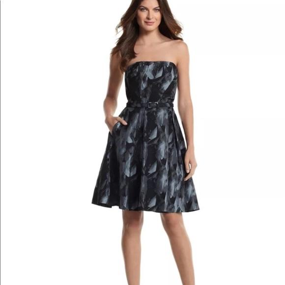 White House Black Market Dresses Whbm Strapless Dress Poshmark